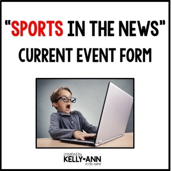 Current Event Worksheet - Sports