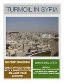 Current Event - Syria