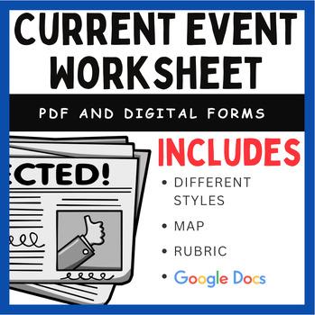 Current Events - ESL worksheet by Raybould  Current Events Worksheet Pdf