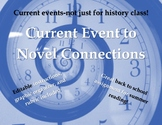 Current Event to Novel Writing Activity