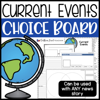 Current Events Choice Board