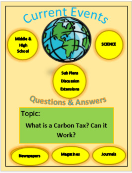Science Current Events: Captain planet: What is a Carbon Tax? Will it Work?