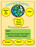 Current Events Science:Indian Pt. Nuclear Power Plant Disa