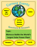Science Current Events:Morocco Builds Largest Solar Power