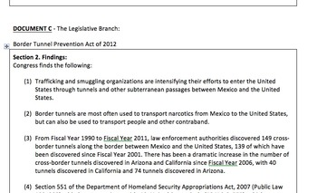 Current Events DBQ - Immigration & The Three Branches of G