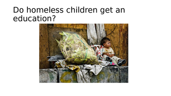 Current Events/ Homeless children in Colombia