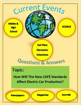 Current Events S:How Will The New CAFÉ Standards Affect Electric Car Production?