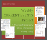 Current Events:  Weekly Journal Project