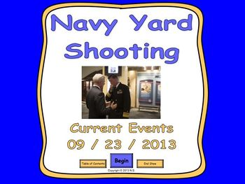 Current Events Lesson - Navy Yard Shooting