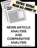 Current Events/News/NewsELA/Actively Learn Analysis and Comparative Analysis