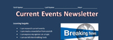 Current Events Newsletter *MS Word*