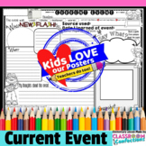 Current Events Activity Poster