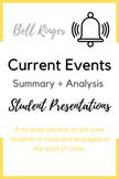 Current Events Presentation - Bell Ringer