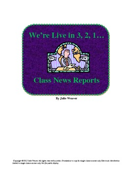 Current Events Project: Create a News Station
