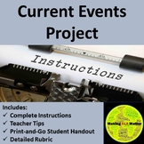 Current Events Project Instructions