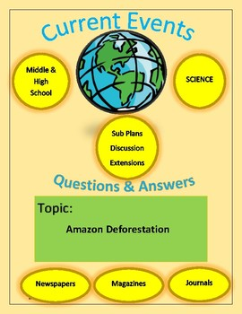 Science Current Events by Captain Planet: Amazon Deforestation