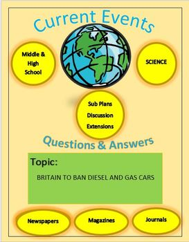 Current Events Science: Britain to Ban Diesel And Gas Cars