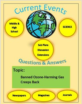 Current Events Science Captain Planet: Banned Ozone-Harming Gas Creeps Back