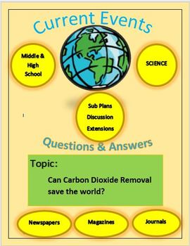 Current Events Science Captain Planet:Can Carbon Dioxide Removal Save The World?