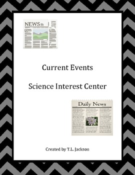 Current Events Science Center - CCSS aligned