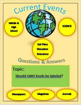Current Events Science: Should GMO Foods Be Labeled?
