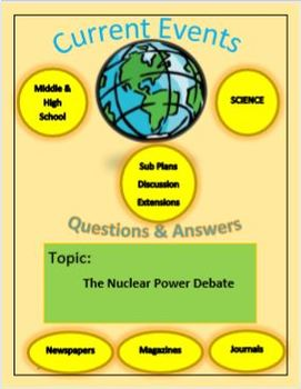 Science Current Events by Captain Planet: The Nuclear Power Debate