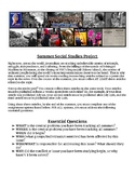 Current Events Social Studies Project-Rubric Included!