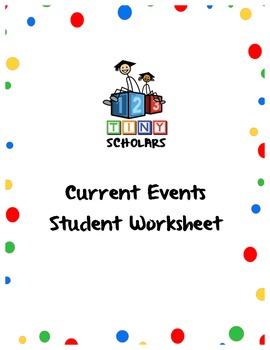 Current Events Student Worksheet