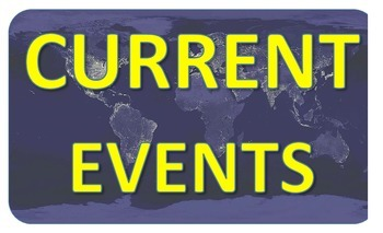 Current Events Template + Wall Display! Social Studies Handouts