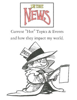 Current Events and Me - Controversial Topic Based Research and Writing Activity
