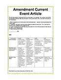 Current Events and U.S. Amendments Project