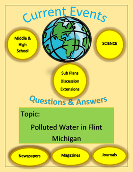 Science Current Events by Captain Planet: Polluted Water in Flint Michigan