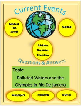 Current Events Science: Polluted Waters & Olympics in Rio