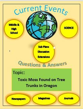 Current Events Science:Captain Planet: Toxic Moss Found on Tree Trunks in Oregon