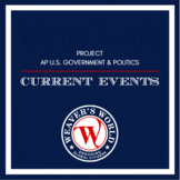 AP Gov Current Events PowerPoint Presentation Project - Se