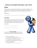 Current Events or  Non- fiction text organizer / Learn A N