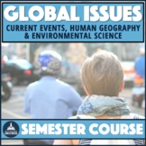 Global Issues Contemporary World Problems Human Geography PBL Course Bundle