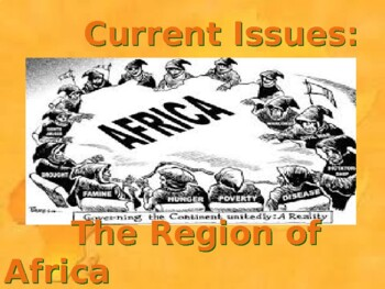Current Issues Facing Africa Today PPT