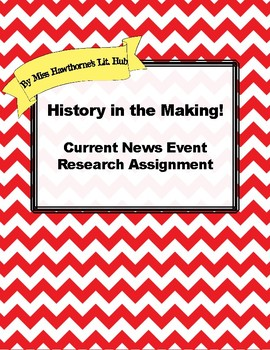 Current News Event Research Paper