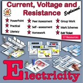 Current Electricity - Current, Voltage and Resistance Expl