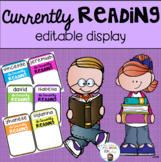 Currently Reading Display Editable
