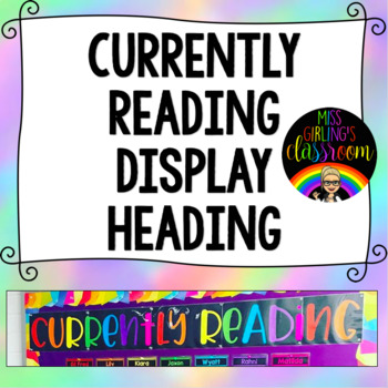 Currently Reading Display Heading
