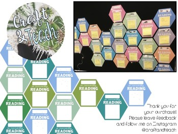 Currently Reading Hexagons