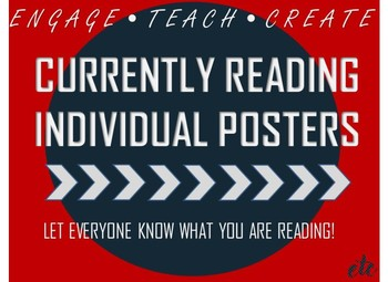 Currently Reading Individual Posters