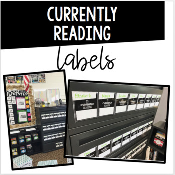 Currently Reading Label