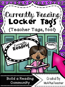 Currently Reading Locker Tags