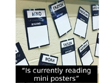 Currently Reading Mini Posters