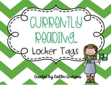 Currently Reading...Locker Name Tags