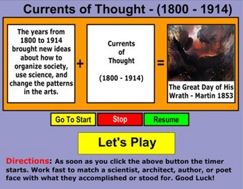 Currents of Thought (1800 - 1914)  Part  1 - Bill Burton