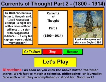 Currents of Thought (1800 - 1914)  Part  2  - Bill Burton